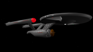 USS Enterprise NCC-1701 by Marksman104