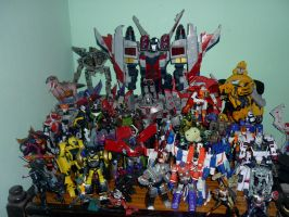 My Transformers Collection by Kisachi