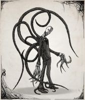 the Slender Man by MetaDragonArt