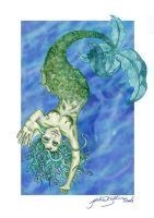 Mermaid by jackieocean