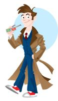 The Tenth Doctor by memorypalace