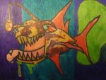 Sick Fish Detail by Artist-TGD