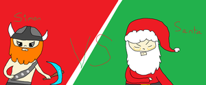 Simon VS Santa by iznj