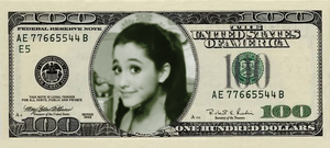 Cat Valentine Dollar Bill by Supremechaos918