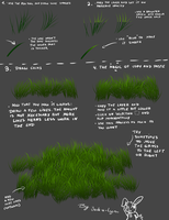 Jacky's little Grass Tutorial for Lazy SAI Artists by Jack-a-Lynn