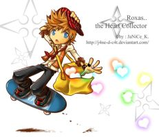 Roxas the Heart Collector by J4ne-d-C4t