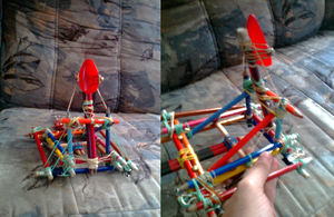 My self-built catapult x3 by Abstract-scientist