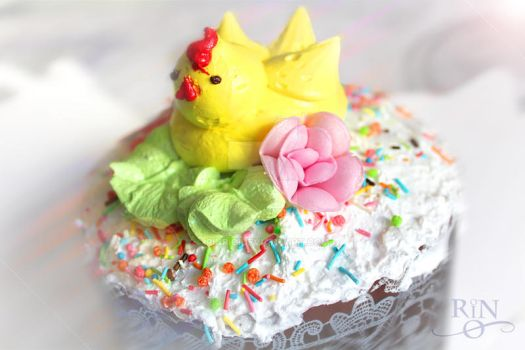 Easter Cake by RinRio