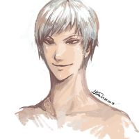 Prussia sketchie by SesameFruit