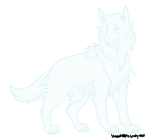 Winking wolf aboptable by Torikm