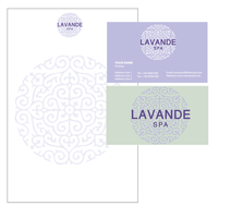 Lavender Spa Logotype by razangraphics