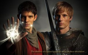 Merlin et Arthur by Nikky81
