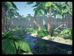 mental ray Jungle Delivery by Majoh