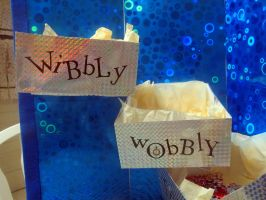 My Home Made TARDIS -view 4 interior-Wibbly Wobbly by Therese-B