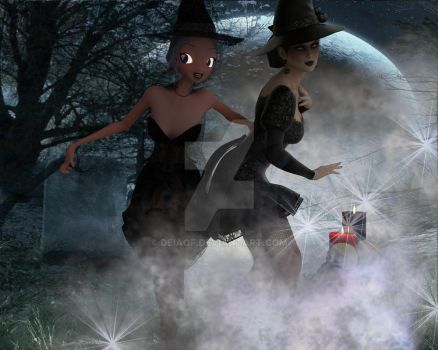 Little Witches by deiaof