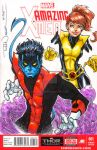 Nightcrawler and Kitty Pryde by ToddNauck