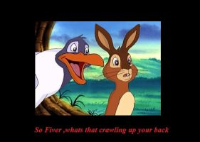 Funny Watership Down 3 by CrispinVCampion