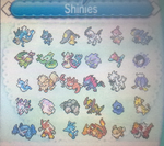 My box of Shinies :UPDATED: by MistrissTheHedgehog