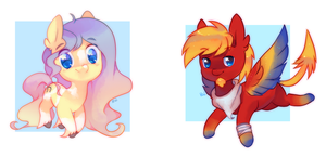 chibi pony batch 10 by pekou