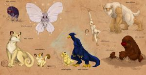 Realistic Pokemon Page 7 by TopHatTruffles