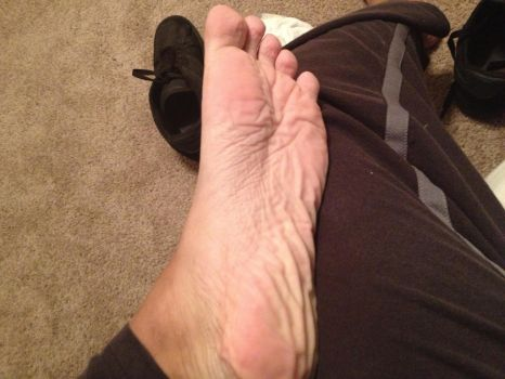My wrinkly sole #2 by MrSnurf