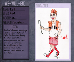 We-Will-End Application - Rod by EyonSplicer