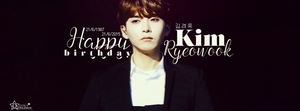 [Cover facebook] RyeoWook - Super Junior by cat-b3bi