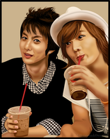 SS501 - Hyung Jun and Jungmin by MSilenceART