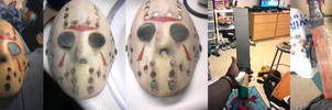 How To Make A Jason Mask Pt. 2 by DeviantBoss