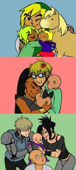 Dads in Numbers by BeagleTsuin