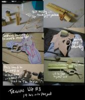 Trigun- Vash's gun WIP no.3 by fevereon