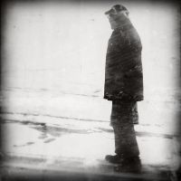 The old man in the snow by G-Moel