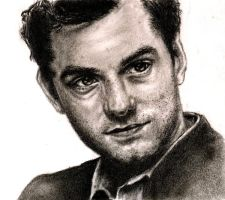 Jude Law Portrait by StreamThroughNebula