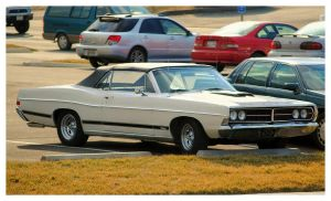 Ford Galaxie Convertible by TheMan268
