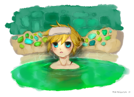 link should relax by mikimanni