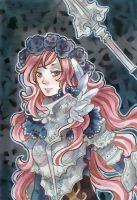 ACEO valkyrie by idheen