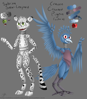 Five Nights at Freddy's OCs by InkFire-RainbowPrism