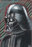 Vader Oil Pastel by David-c2011