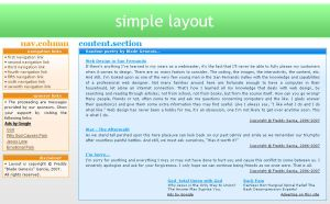 Layout - Simple by Blade-Genexis