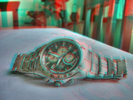 My Watch HDR and Anaglyph by AlperEsin