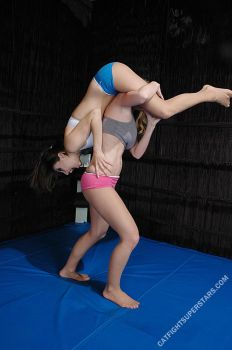 Lift and Carry Tit Mauling Wrestling Catfight #13 by Catfight-Superstars