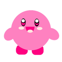 Kirby Kawaii Png by Martui44