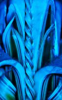 Intricacy in Blues by MystMoonstruck