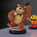 Freddy Amiibo! by SmashingRenders