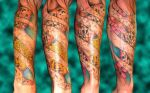 koi sleeve tattoo by asussman