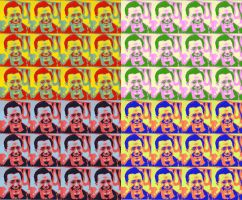 Stephen Colbert Pop-Art by mLori1971