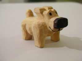 Finished Project - Little Dog by siegeandspike
