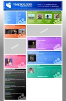 Myspace Redesign by Eques-Ardor