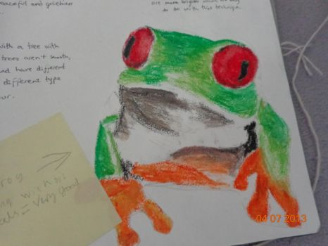Awesome frog by jokelily