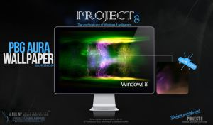 PROJECT 8 - PBG Aura wallpaper by enemia
